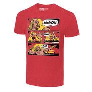 Hulk Hogan Whatcha Gonna Do Comic Graphic T-Shirt