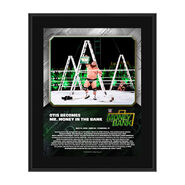 Otis Money In The Bank 2020 10 x 13 Limited Edition Plaque