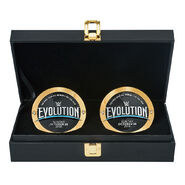 WWE Evolution 2018 Championship Replica Side Plate Box Set