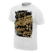 WrestleMania 31 Skyline T-Shirt