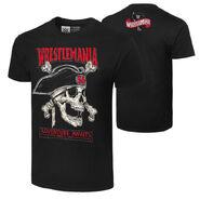 WrestleMania 36 Adventure Awaits T-Shirt