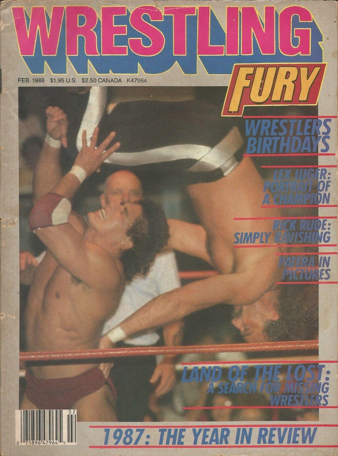 Wrestling Fury - February 1988