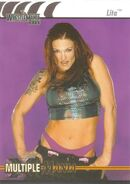 2003 WWE WrestleMania XIX (Fleer) Lita 86