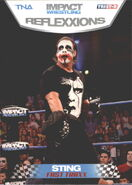 2012 TNA Impact Wrestling Reflexxions Trading Cards (Tristar) Sting 73