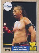 2017 WWE Heritage Wrestling Cards (Topps) Shinsuke Nakamura 65