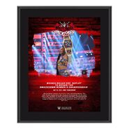 Bianca Belair WrestleMania Backlash 2021 10x13 Commemorative Plaque