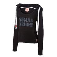 Roman Reigns Women's Tri-Blend Pullover Hoodie Sweatshirt