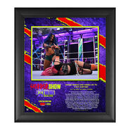 Sasha Banks The Horror Show At Extreme Rules 2020 15x17 Commemorative Limited Edition Plaque