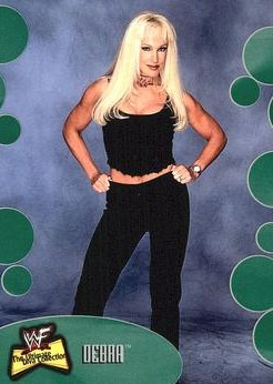 2001 WWF The Ultimate Diva Collection (Fleer) Debra (No.9)