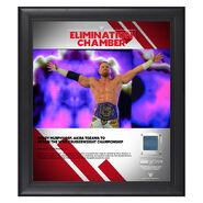 Buddy Murphy Elimination Chamber 2019 15 x 17 Framed Plaque w Ring Canvas