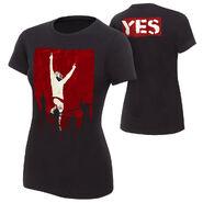 Daniel Bryan Yes Revolution Women's Authentic T-Shirt