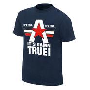 Kurt Angle It's Damn True Authentic T-Shirt