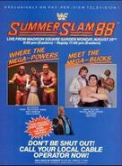 SummerSlam 1988 Poster