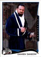 2014 WWE (Topps) Damien Sandow 64