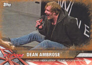 2017 WWE Road to WrestleMania Trading Cards (Topps) Dean Ambrose 32