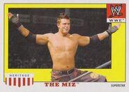 2008 WWE Heritage IV Trading Cards (Topps) The Miz 37