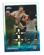 2015 Chrome WWE Wrestling Cards (Topps) Sheamus 64