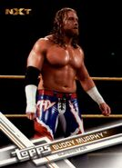 2017 WWE (Topps) Then, Now, Forever Buddy Murphy 168