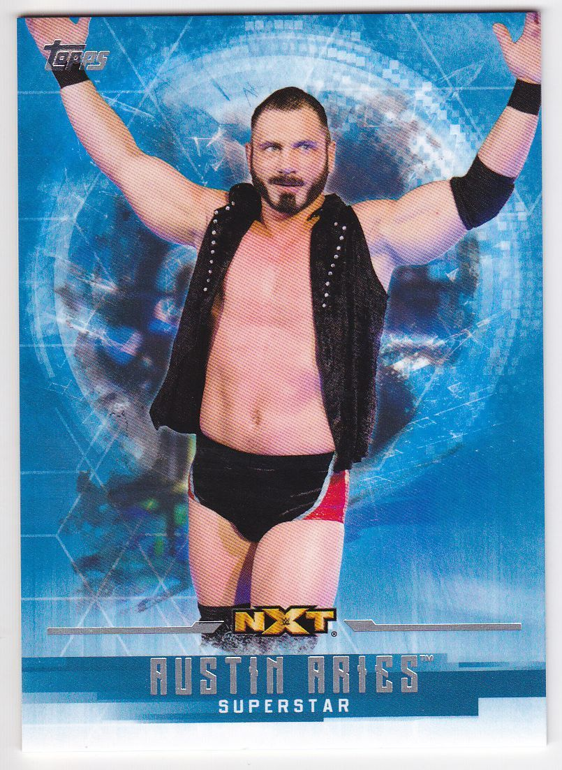2017 WWE Undisputed Wrestling Cards (Topps) Austin Aries (No.43)