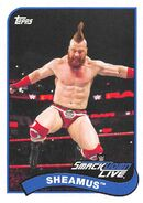 2018 WWE Heritage Wrestling Cards (Topps) Sheamus 72