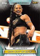 2019 WWE Women's Division (Topps) Bianca Belair 88