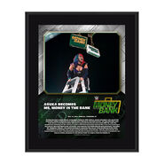 Asuka Money In The Bank 2020 10 x 13 Limited Edition Plaque