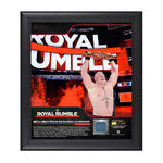 Brock Lesnar Royal Rumble 2018 15 x 17 Framed Plaque w Ring Canvas.jpg