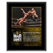 Finn Bálor WarGames 2019 10x13 Commemorative Plaque