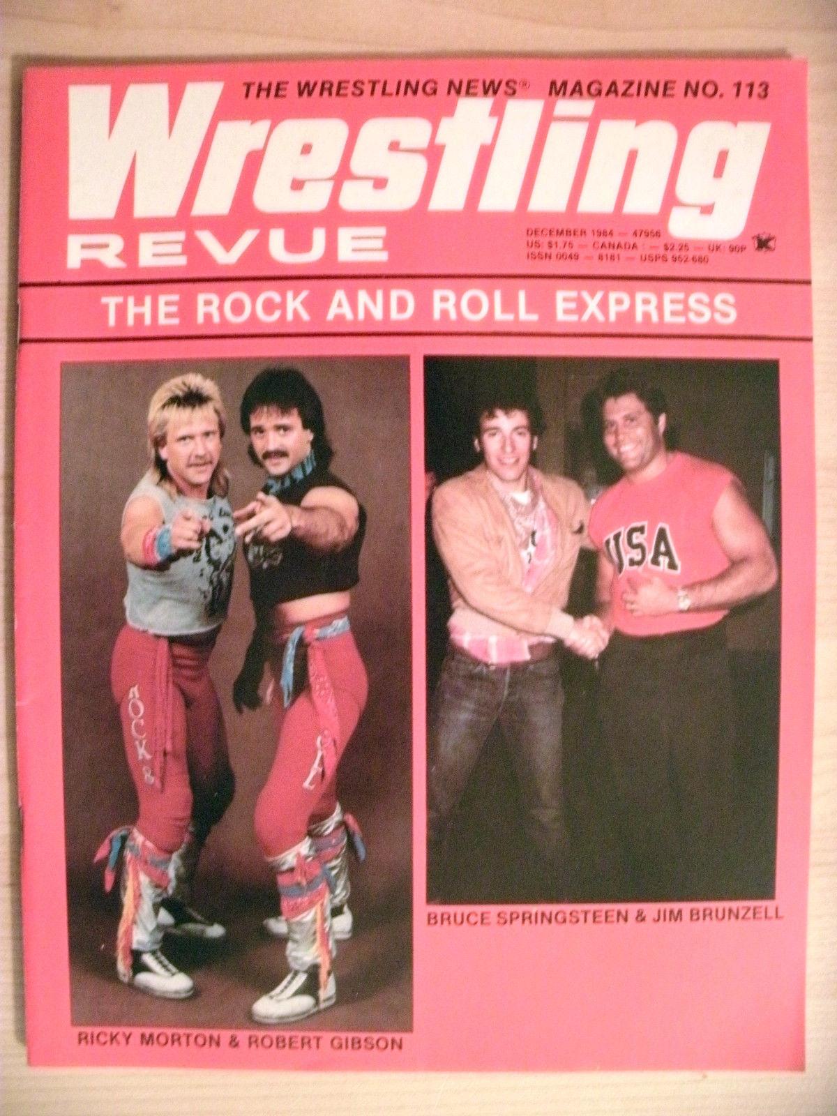 Wrestling Review - December 1984