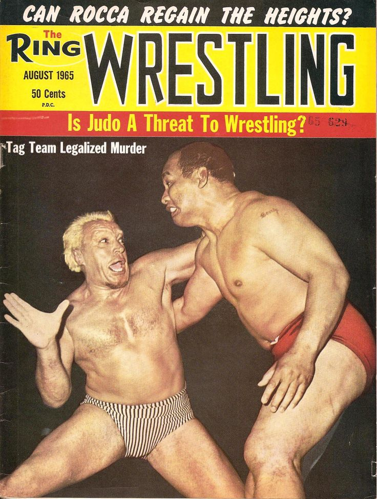 The Ring Wrestling - August 1965