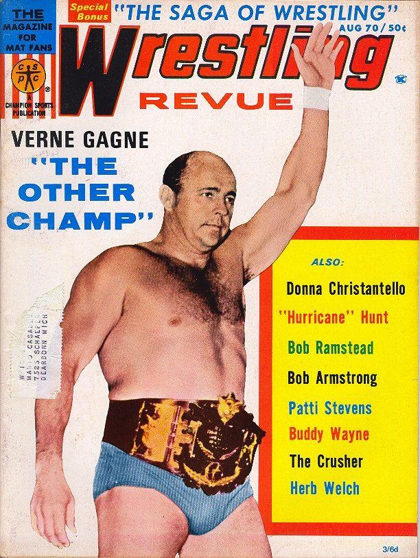 Wrestling Revue - August 1970