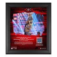 Bianca Belair WrestleMania Backlash 2021 15x17 Commemorative Plaque