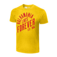 Hulk Hogan Hulkamania Lives Forever Authentic T-Shirt