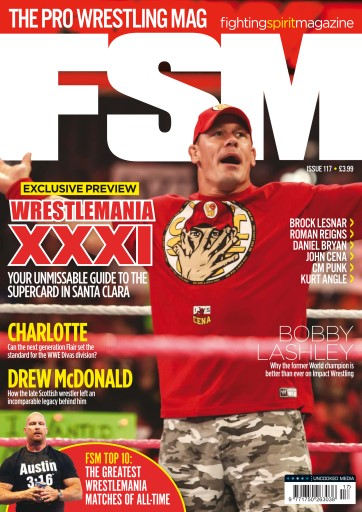 Fighting Spirit Magazine 117