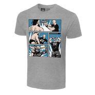 Stone Cold Steve Austin Comic T-Shirt Front