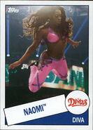2015 WWE Heritage Wrestling Cards (Topps) Naomi 58
