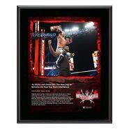 AJ Styles & Omos WrestleMania 37 10x13 Commemorative Plaque