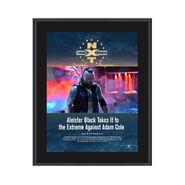 Aleister Black NXT TakeOver Philadelphia 2018 10 x 13 Commemorative Photo Plaque