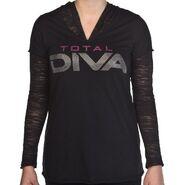 Total Diva Women's Burnout Sweatshirt