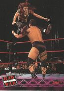 2001 WWF RAW Is War (Fleer) Lita 6