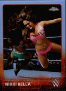 2015 Chrome WWE Wrestling Cards (Topps) Nikki Bella 50