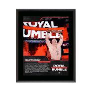 Brock Lesnar Royal Rumble 2018 10 x 13 Commemorative Photo Plaque