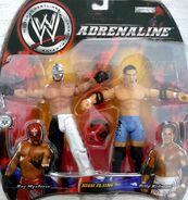 WWE Adrenaline Series 5 Billy Kidman & Rey Mysterio