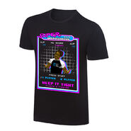 WWE x NERDS Xavier Woods Super UpUpDownDown T-Shirt