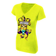 WrestleMania 30 Celebration Women's V-Neck T-Shirt