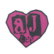 AJ Lee Car Magnet