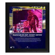 Alexa Bliss FastLane 2021 15 x 17 Commemorative Plaque