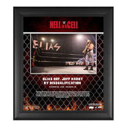 Elias Hell In A Cell 2020 15x17 Commemorative Plaque