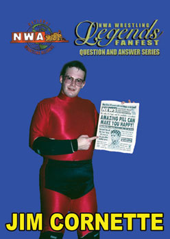 NWA Legends Q&A Jim Cornette