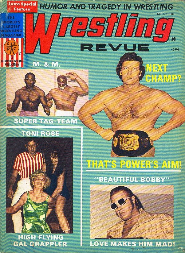 Wrestling Revue - September 1971